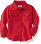 Old Navy Flannel Pocket Shirt for Toddler