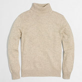 J.Crew Factory Cotton-merino blend turtleneck sweater