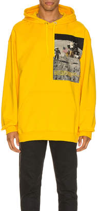 Calvin Klein Est. 1978 Moon Landings Hoodie in Lemon Chrome | FWRD