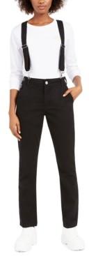 Dickies Straight-Leg Suspender Pants
