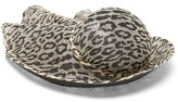 Stephen Jones Pull Leopard-print Sinamay Straw Cloche Hat - Womens - Leopard