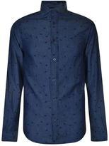 Armani Jeans Multi Eagle Denim Shirt