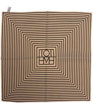 Totême Signature Monogram Silk Scarf