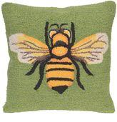 Liora Manné Bee Indoor/Outdoor Throw Pillow in Green