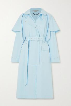 Stella McCartney - Cotton-blend Twill Trench Coat - Blue