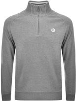 Henri Lloyd Rednor Half Zip Sweatshirt Grey