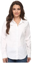 NYDJ Petite Fit Solution Button Front Shirt