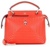 Fendi Dotcom Click Small Leather Shoulder Bag