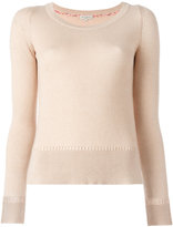 Etro round neck jumper - women - Cotton/Cashmere - 40