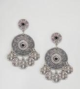 Reclaimed Vintage Inspired Multi Coin Earrings