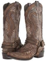 Stetson Snip Toe Harness Boot