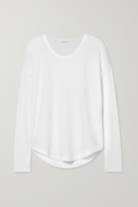 Rag & Bone Hudson Slub Stretch-jersey Top - White