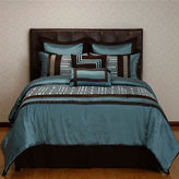 JCPenney Options:32TM Maze 8-pc. Reversible Comforter Set