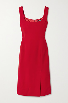 Dolce & Gabbana Cady Dress - Red