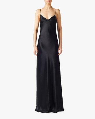 Galvan V Neck Slip Dress