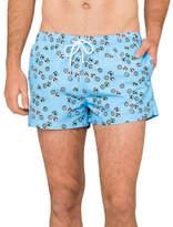 Boardies Apparel Shortie Swim Short Blue