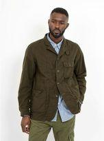 Engineered Garments Benson Jacket Olive Moleskin