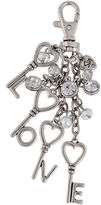SANDRA MAGSAMEN Messages from the Heart by Sandra Magsamen Silver-Tone Key Chain