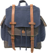 Asstd National Brand Two-Tone Canvas Backpack