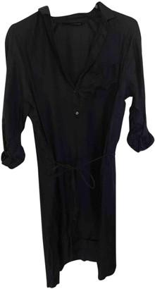 Calvin Klein Blue Silk Dress for Women