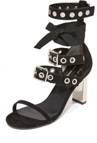Robert Clergerie x Self Portrait Block Heel Sandals