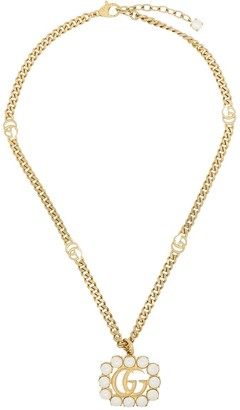 Gucci Double G chain-link necklace