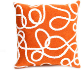 Liora Manné Lasso Pillow 18x18 Orange
