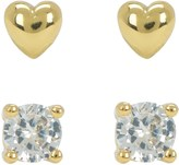 Juicy Couture Heart Expressions Stud Earring Set
