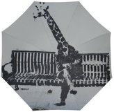 Hipster Umbrellas Funny Hipster Giraffe Graffiti Automatic Foldable Umbrella Compact Parasol Umbrella Umbrella Windproof Rainproof