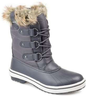 Journee Collection North Women's Faux-Fur Tall Boots