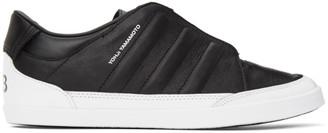 Y-3 Black Honja Low-Top Sneakers