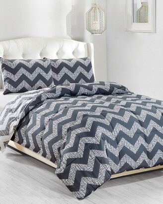 Kensie Wyatt Down Alternative Reversible Comforter Set