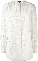Salvatore Ferragamo cut-out shirt - women - Cotton - 38