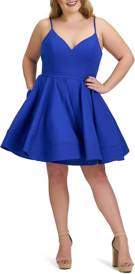 Mac Duggal Fit & Flare Cocktail Dress