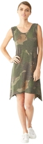 Alternative Sharkbite Printed Eco-Jersey Dress