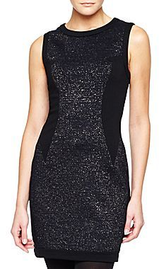 Mng By Mango® Sleeveless Glitter Dress
