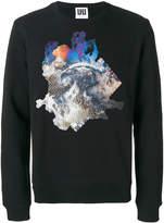 Les Hommes Urban printed sweatshirt