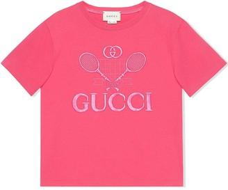Gucci Kids children's T-shirt with Gucci tennis