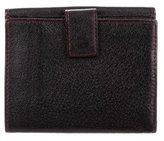 Salvatore Ferragamo Leather Compact Wallet