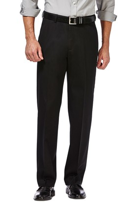 "Haggar Premium No Iron Classic Fit Pants - 29-34"" Inseam"
