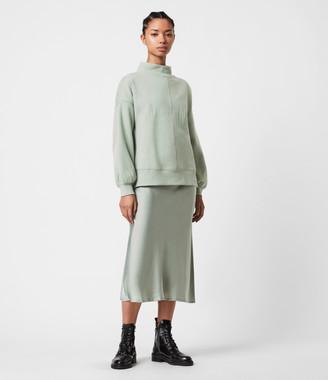 AllSaints Nevarra Splitsaints 2-in-1 Dress