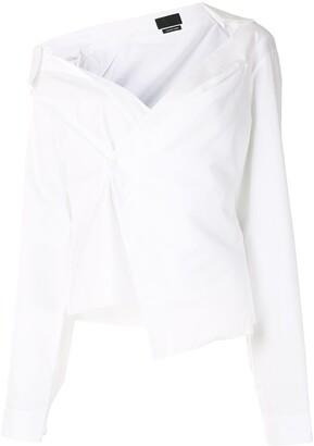 RtA Elizabeth off-shoulder shirt