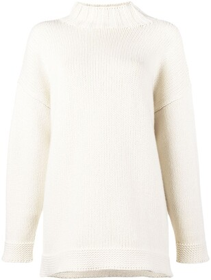 Alexander McQueen Chunky Turtle Neck Knit