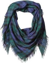 D&Y Women's Plaid Square Scarf