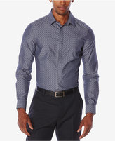 Perry Ellis Men's Big & Tall Multi-Pattern Jacquard Shirt