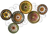 Southern Enterprises Alberta Scattered Italian Plates Wall Art