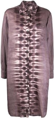 Raquel Allegra Tie-Dye Shirt Dress