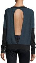 LAmade Oliver Split-Back Sweater