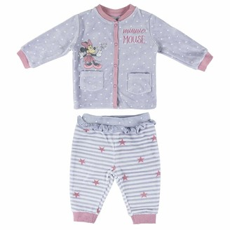 CERDA ARTESANIA Baby Girls' Conjunto 2 Piezas Minnie Clothing Set
