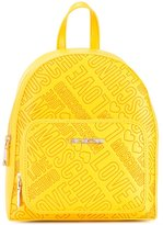 Love Moschino logo print backpack - women - Polyurethane - One Size